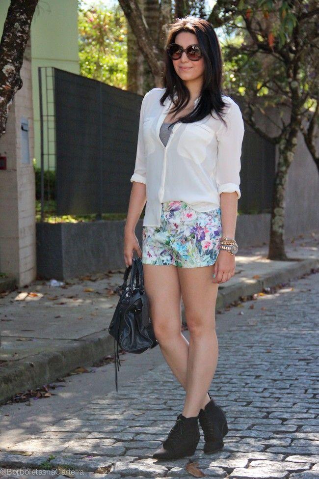 short estampado 5  Shorts estampados são versáteis, confortáveis e atemporais