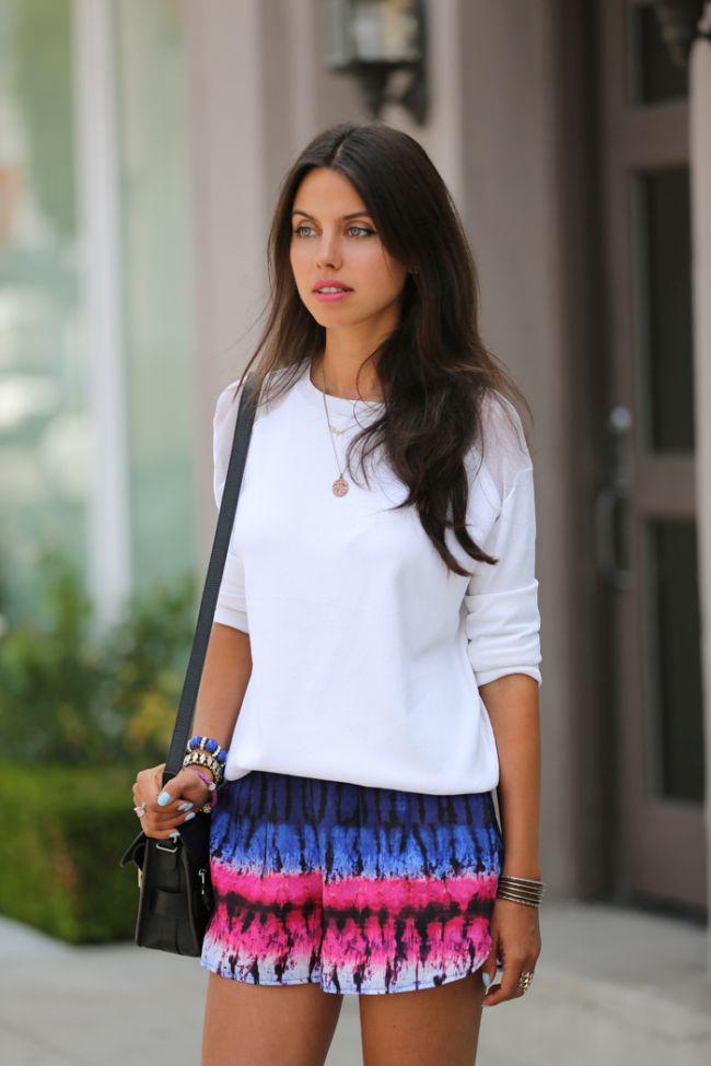 short estampado 6  Shorts estampados são versáteis, confortáveis e atemporais