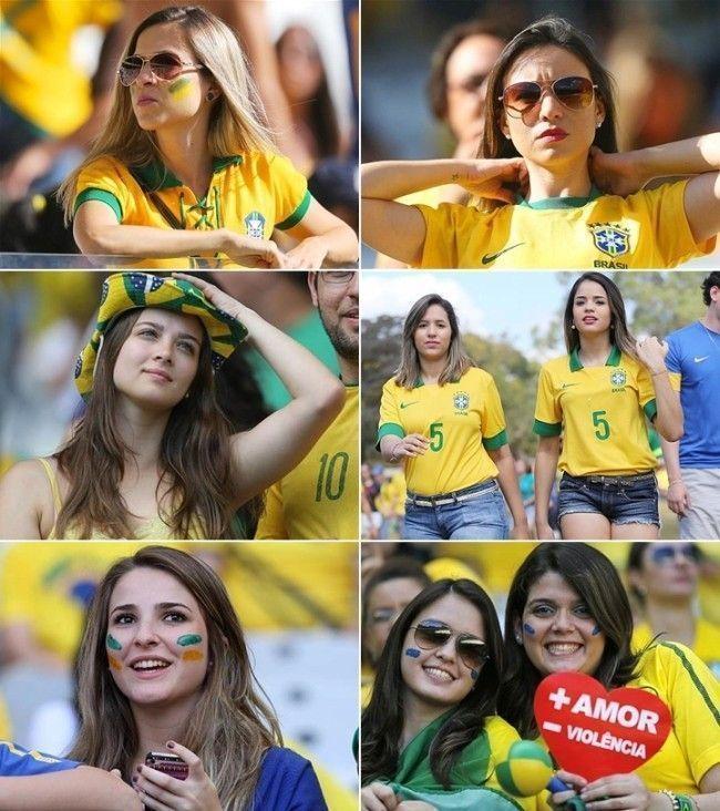 torcedoras jogo do brasil Looks para a Copa do Mundo: como se vestir para torcer pelo Brasil