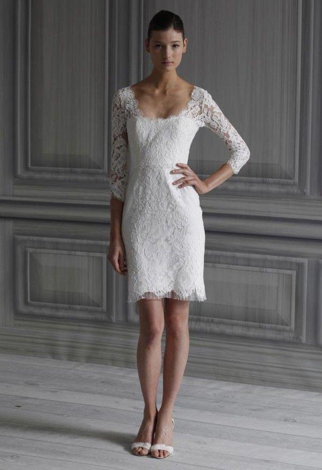 17154ce3859e Qui di seguito una sequenza di foto con diversi abiti da sposa corti per  scegliere il modello. Qualunque sia il vostro stile