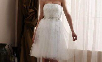 Vestido de noiva curto: opção para as mulheres modernas