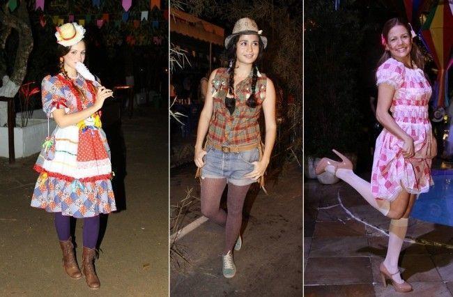 festa junina como se vestir Vestidos para festa junina: looks e dicas para montar seu visual