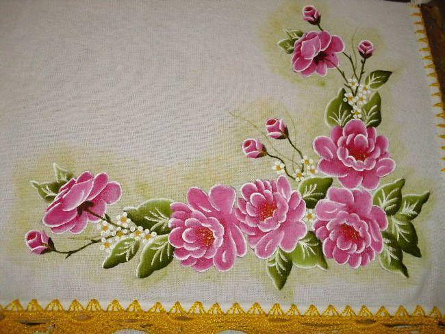 Artes em Croche e Pintura