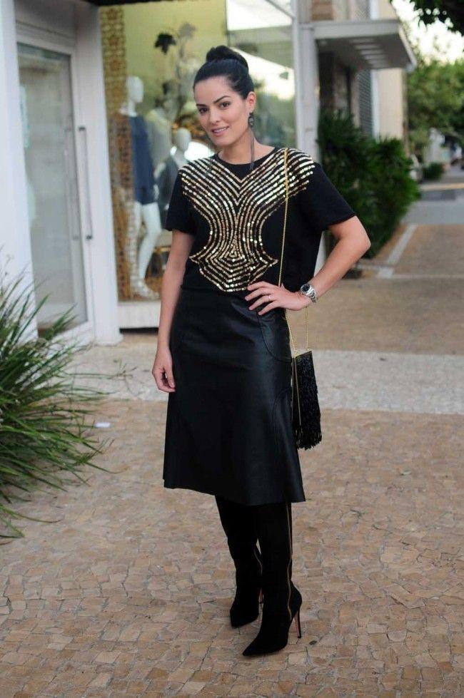 tudo preto blogueira 10 All black: como usar o look todo preto