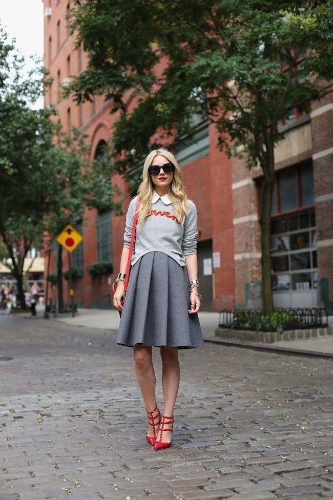 blogueira sapato vermelho 10 Sapato vermelho: a cor forte e vibrante torna qualquer calçado poderoso