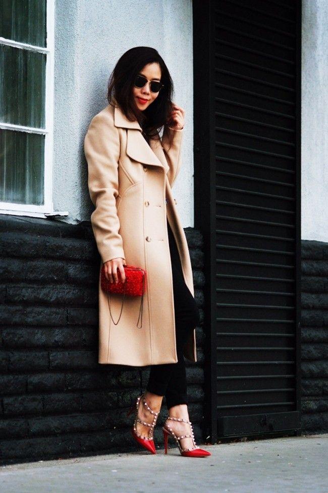blogueira sapato vermelho 8 Sapato vermelho: a cor forte e vibrante torna qualquer calçado poderoso