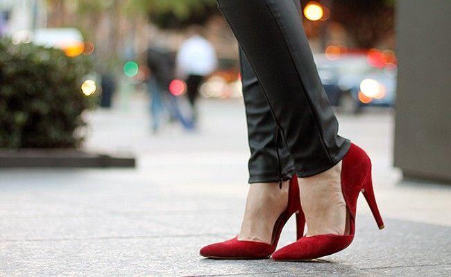 De sandalia salto vermelha da marca werner - 3 part 6