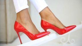 Sapato vermelho: a cor forte e vibrante torna qualquer calçado poderoso