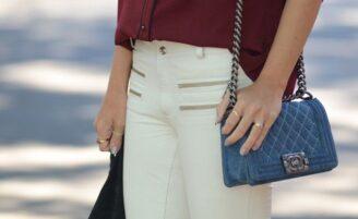 Como usar calça branca para criar looks casuais e elegantes