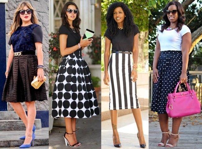 Foto: Reprodução / Aventura Chic   Reprodução / Viva Luxury   Reprodução / Style Peantry   Reprodução / Curves and Confidence