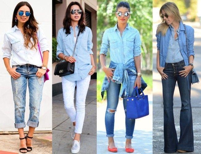 Looks total jeans: como fazer combinações interessantes - Dicas de ...