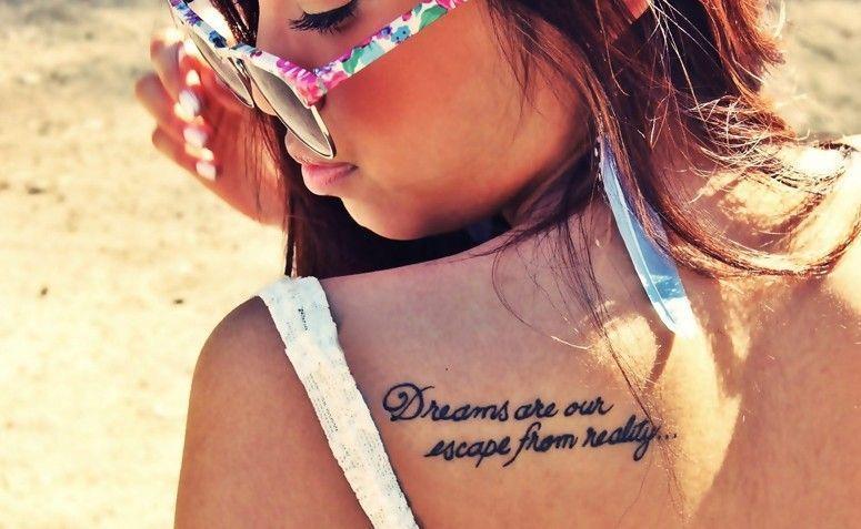 """""""Sonhos são uma forma de fugir da realidade"""". Foto: Reprodução"""