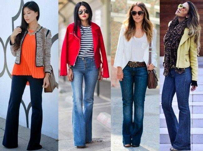 6796adbca3 Jeans flare  a calça que modela o corpo e te deixa elegante - Dicas ...