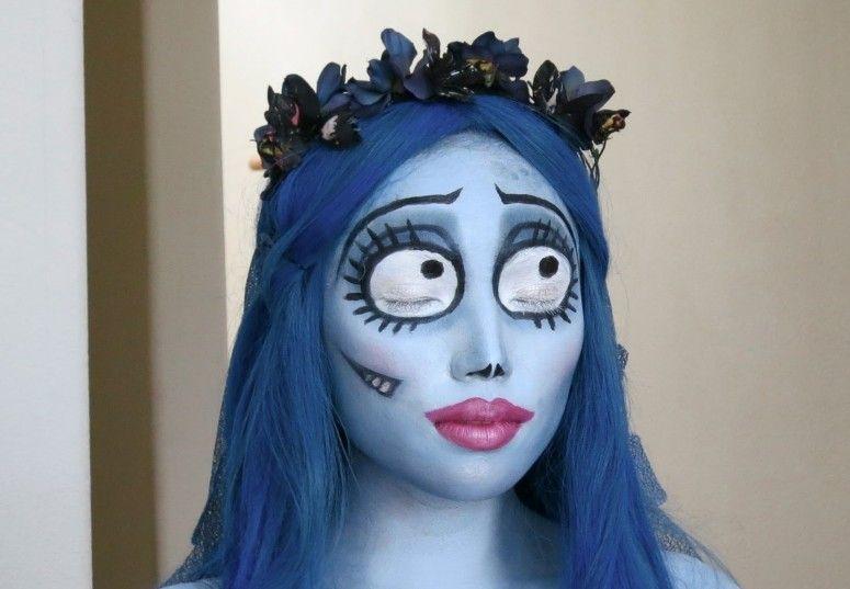 Suficiente 20 maquiagens de Halloween criativas e diferentes EQ71