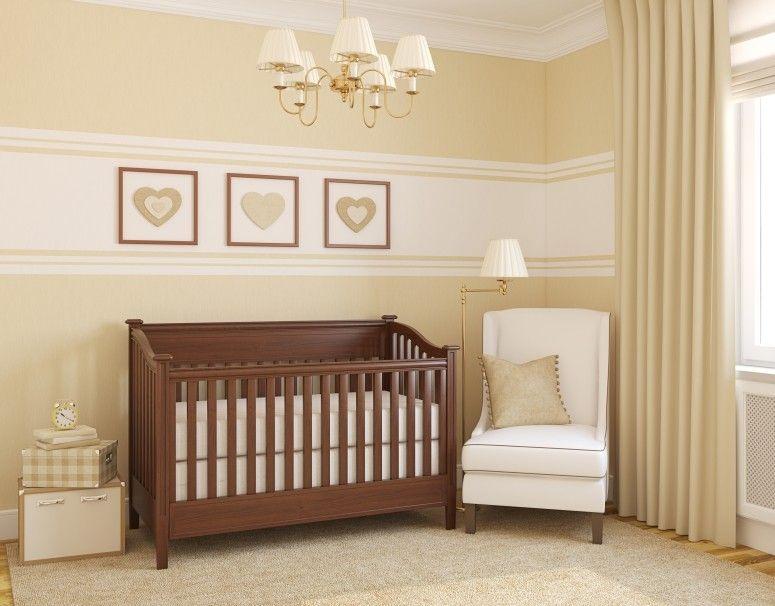 Papel de parede para quarto de beb ideias e inspira es - Idee per pitturare una cameretta ...