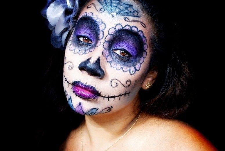 Maquiagem Halloween Sugar Skull