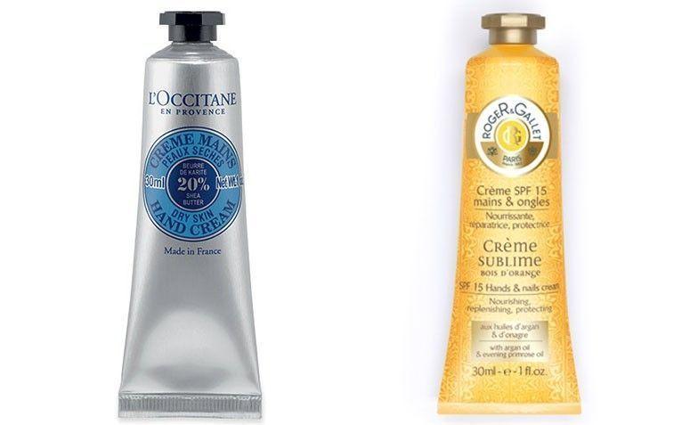 Creme de Mãos Karité por R$39 na L'Occitane | Bois D'Orange Crème Sublime da Roger & Gallet por R$40,25 na Netfarma