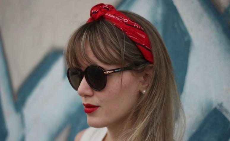 Aprenda a criar looks cheios de estilo usando bandanas for Como criar caracoles de jardin