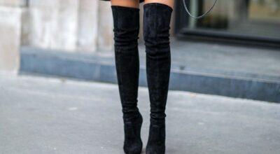 Como usar bota over the knee para criar looks de frio ultra estilosos