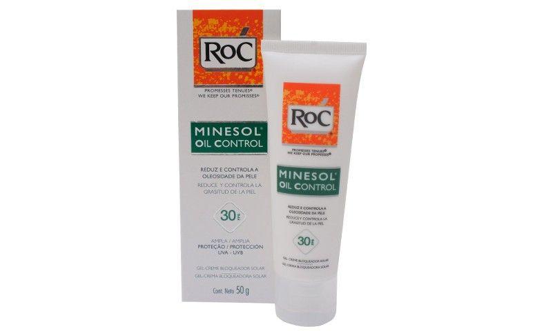 Minesol oil control FPS 30, da Roc, por R$ 71,29 na Ultrafarma