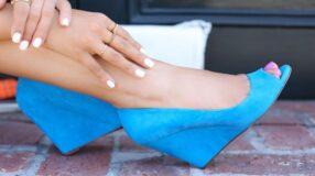 Salto anabela proporciona conforto e estilo em diversos calçados