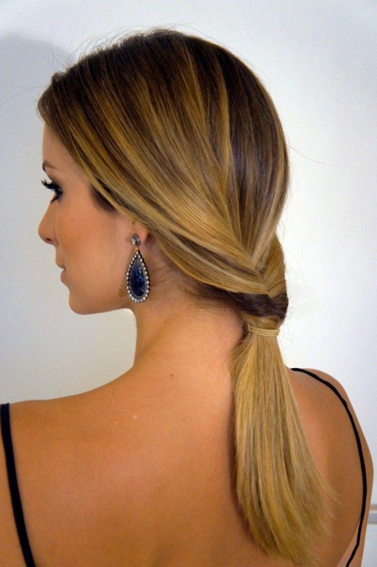 Penteados para festas - Para cabelos loiros