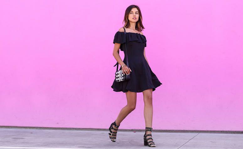 cd59671f5 Vestido preto  como usar o clássico que nunca sai de moda