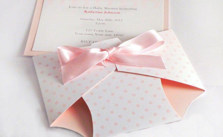 Famosos Convite de chá de bebê: 67 modelos fofos para te inspirar DF44