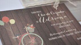 Convite para chá de cozinha: modelos e inspirações lindas