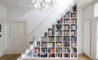 14 ideias criativas para aproveitar o espaço embaixo da escada