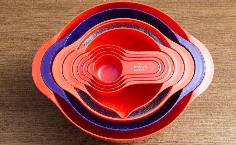 Conjunto de bowls 8 peças por R$ 139,90 na Lekssa
