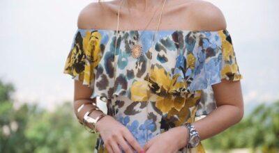 Decote ombro a ombro: o detalhe que deixa seu look mais elegante