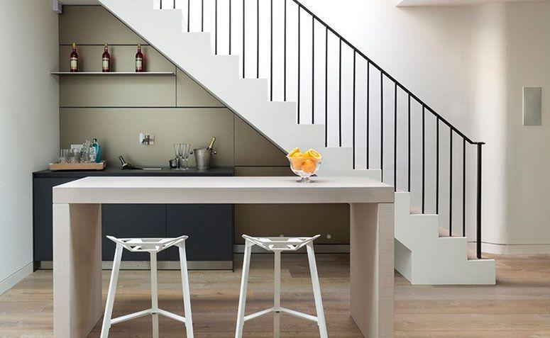 14 Ideias Criativas Para Usar O Espa 231 O Embaixo Da Escada