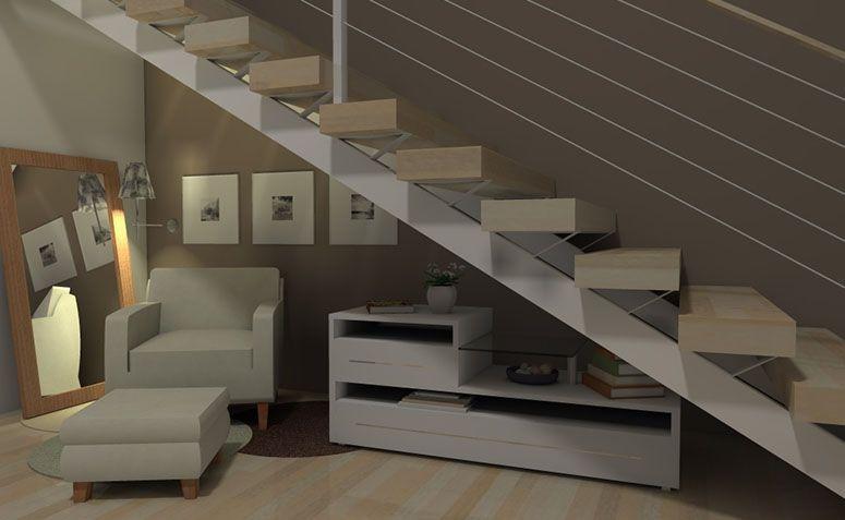 escada para o jardim:14 ideias criativas para aproveitar o espaço embaixo da escada