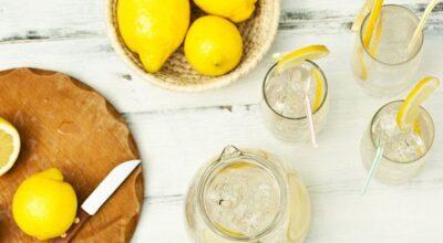 13 receitas de limonadas sensacionais