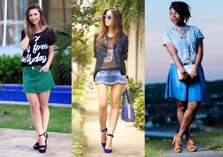 Excepcional Como montar looks estilosos e modernos com saia jeans BY58