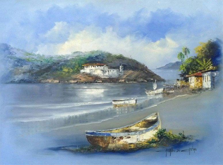 Pintura em tela por R$430 no Elo7