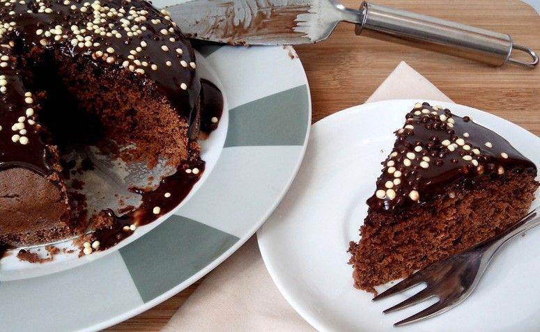 Bolo de Nutella. Foto: Reprodução / Cozinhando para 1 ou 2