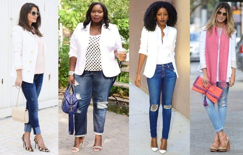 7909a691cf Como usar blazer branco  a terceira peça coringa para seus looks ...