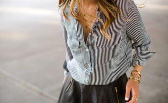 Como usar camisa listrada com estilo