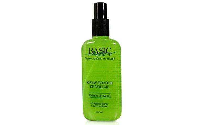 Spray de Volume Basic Hair por R$21,91 na Submarino