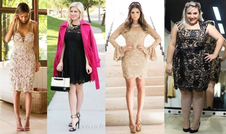 vestidos de renda com forro