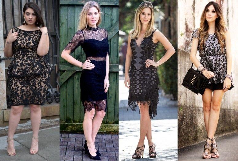 11924dbc4 90 vestidos de renda curtos das blogueiras para te inspirar