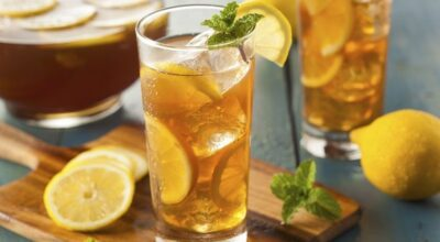 20 receitas de chás gelados energizantes e refrescantes