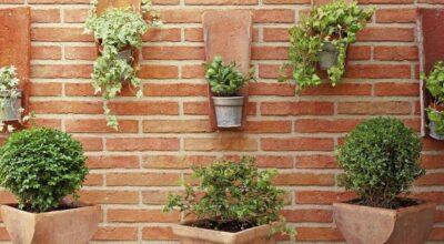 Jardim suspenso é ideal para dar charme e vida a ambientes pequenos