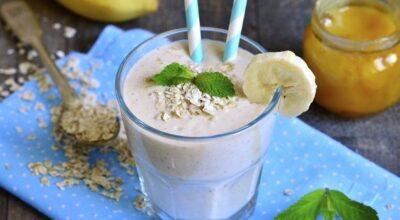 Leite vegetal de banana é fácil de fazer e traz sabor, refrescância e energia ao seu dia
