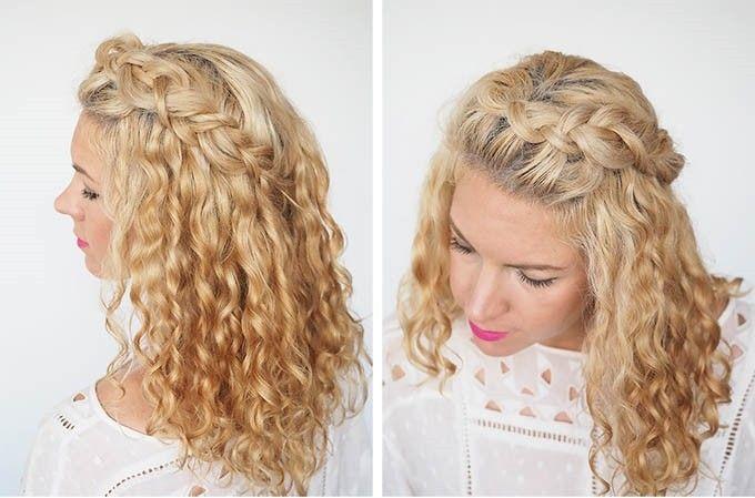 Penteados para cabelos cacheados dicas