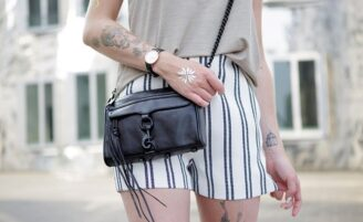 Inspirações de tatuagens femininas de diferentes estilos no braço
