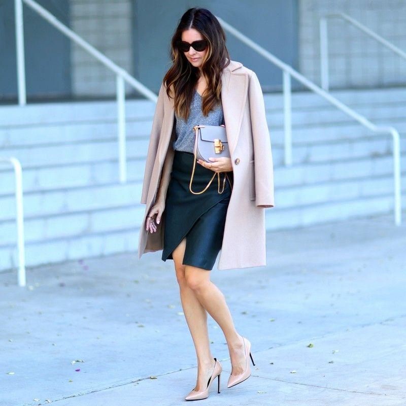 2577ab825 Scarpin nude: looks lindos com o calçado mais elegante