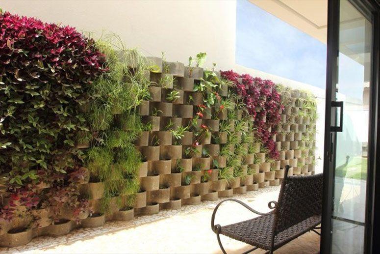 cerca para jardim vertical : Jardim vertical: inspira??es, como montar e muitas dicas!